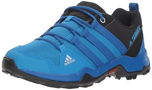 adidas outdoor Unisex-Kids Terrex AX2R K, Black/Blue Beauty/Black, 4 Youth US Big Kid