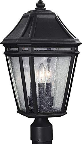 Murray Feiss Pier - Feiss OL11308BK-LED Londontowne LED Marine Grade Outdoor Post Lighting, Black, 1-Light (10