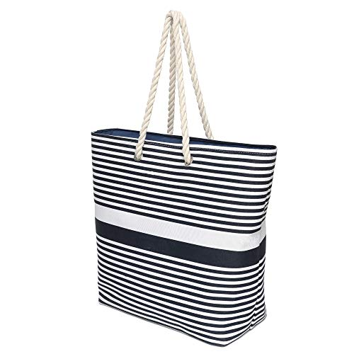 Large Canvas Beach Shoulder Bag Mom
