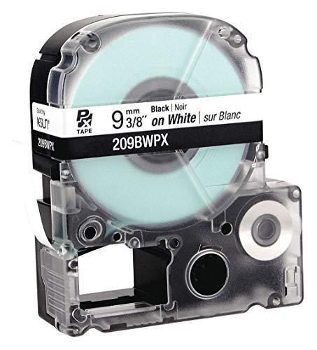 K-Sun 209BWPX - Cartridge Label 3/8 in W White Pack of 2