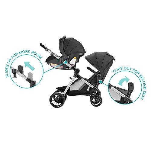 41fMV22o49L - Pivot Xpand Modular Travel System With SafeMax Infant Car Seat, Stallion Black