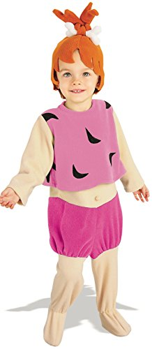 Rubie's Costume Pebbles Flintstone Toddler (Pebbles Costume For 1 Year Old)