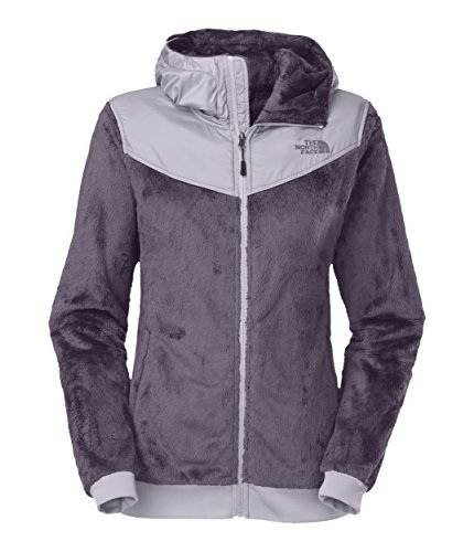 The North Face Women's Oso Hoodie Greystone Blue/Dapple Grey (Womens Oso Hoodie Jackets)