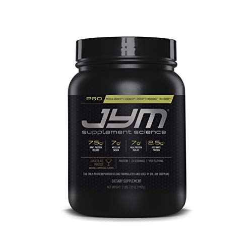 Pro JYM Protein Powder - Egg White, Milk, Whey Protein Isolates & Micellar Casein | JYM Supplement Science | Chocolate Mousse Flavor, 2 lb (Egg White Powder Vs Egg White Liquid)