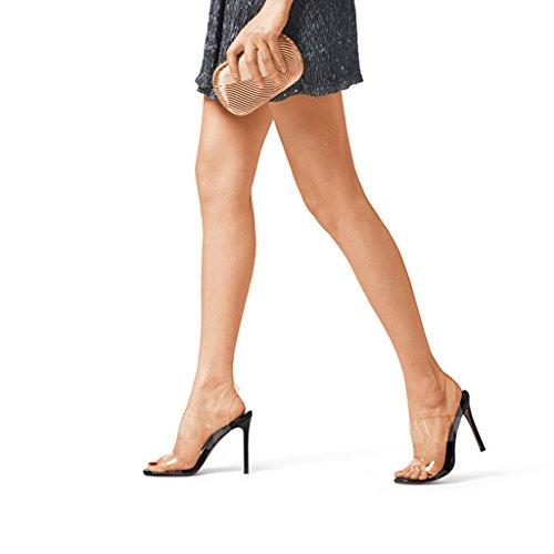 Chaussures Faible Travailler Vous Sunny Rendez Noir Talon Haut Dames Bureau Femmes Milieu HFBFAwqC