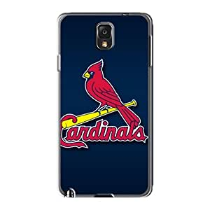 High Quality Phone Covers For Samsung Galaxy Note 3 With Customized Realistic St. Louis Cardinals Series JacquieWasylnuk