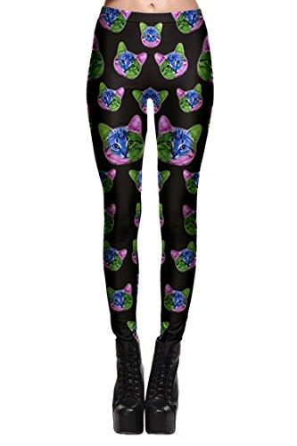 PinkWind Ladies Stretch Leggings Printing