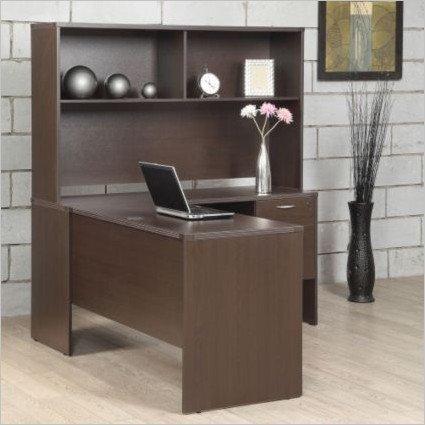 Lodi L-Desk with Hutch - 60