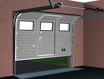 garagentor mit t r elektrisch nabcd. Black Bedroom Furniture Sets. Home Design Ideas