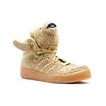 Jeremy Scott Bear (Unisex Sizes) in Supplicol/LGTOLDGOL (Gold) by Adidas