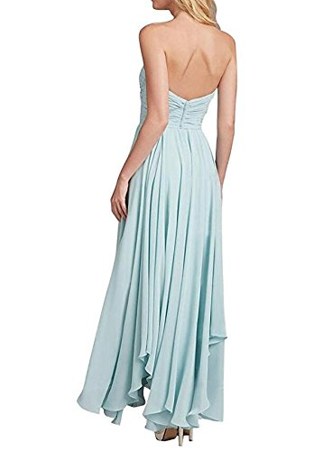 Botong Gown Bridesmaid Chiffon Champagne Wedding Grey Dress Party Sweetheart Long Dress Prom rqpgrZwxH