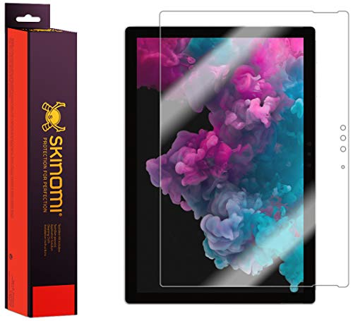 Skinomi Screen Protector Compatible with Microsoft Surface Pro 6 Clear TechSkin TPU Anti-Bubble HD Film