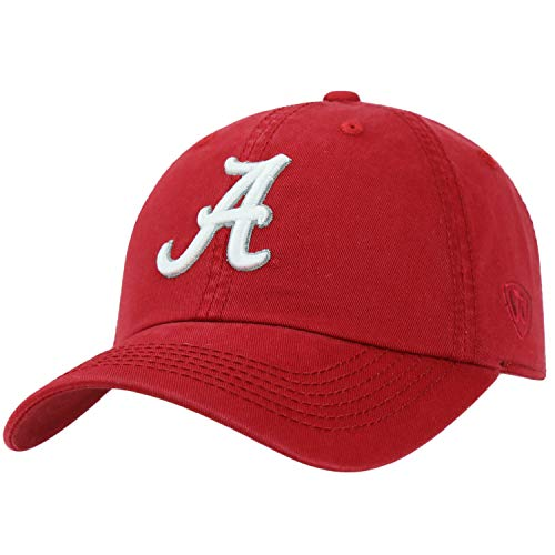 - Alabama Crimson Tide - Adjustable NCAA Crew Collegiate Hat - Adult, One Size Fits All