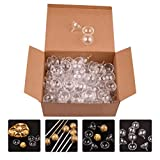 EXCEART 25Pcs Clear Chocolate Box Holder Plastic