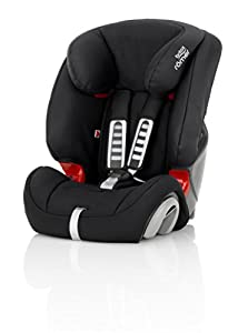 britax r mer evolva 1 2 3 group 1 2 3 9 36kg car seat cosmos black baby. Black Bedroom Furniture Sets. Home Design Ideas