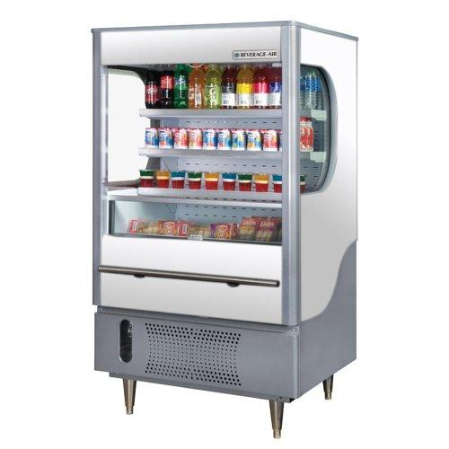 Beverage Air VM12-1-W Vuemax Series Open-Air Merchandiser (Open Air Merchandiser)