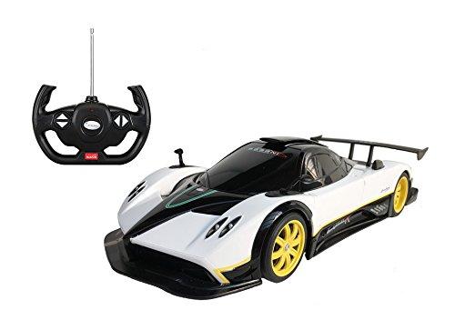 Radio Remote Control 1/14 Pagani Zonda R Licensed RC Model Car (White)