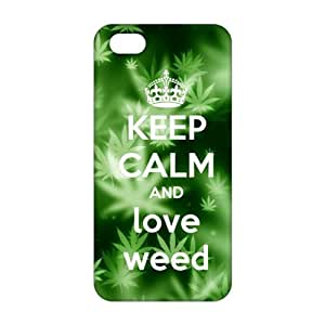 Fresh green design 3D Phone Case for iPhone 5s