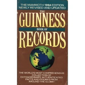 the guinness book of records 1994巻 感想 norris mcwhirter 読書メーター