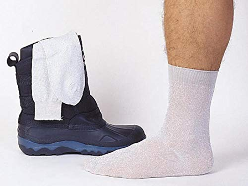 Sports Parts Inc Metallic Sock Liners , Primary Color: White, Size: OSFM, Gender: Mens/Unisex 16-070-01