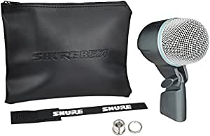 Shure BETA 52A Supercardioid Dynamic Kick Drum Microphone with High Output Neodymium Element