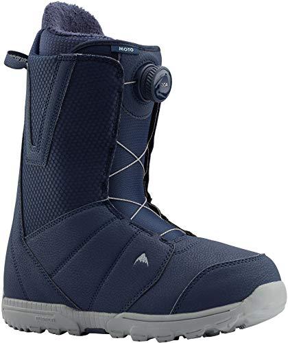 Burton Moto BOA Snowboard Boots Mens Sz 9 Blue