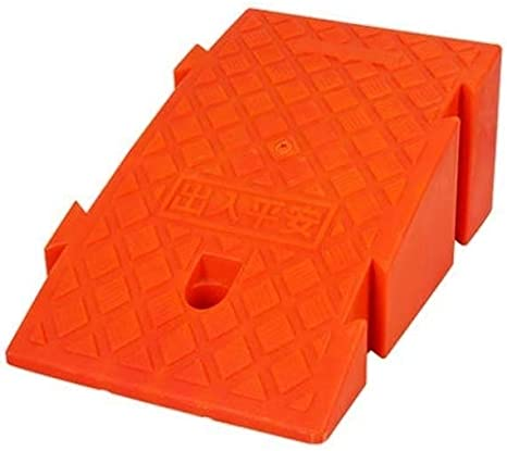 Color Plastic Non-Slip Mat Anti-Slip Indoor Threshold Pad Bicycle Motorcycle Triangle Service 7-14CM,for Most Cars Ramps Curb AoYanQi Wheelchair Uphill Pad Size : Yellow-502714cm