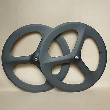 Man Friday ruedas udelsa pista 700c de carbono 3 hablaron 70mm artes fijos profundo juego de