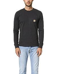 Men's Workwear Midweight Jersey Pocket Long-Sleeve T-Shirt K126