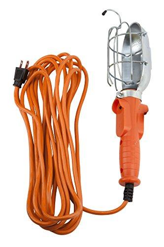 Performance Tool W2260 25' 120V Metal Drop Light (Incandescent Metal)