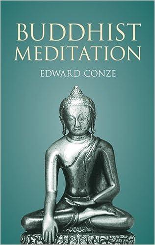Conze Meditation cover art