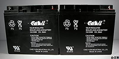 2) Casil 12 V 20 AH para Firelite ms-9050ud (e) Panel de ...