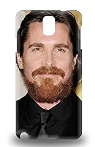 Fashion 3D PC Case Cover For Galaxy Note 3 Christian Bale The United Kingdom Male Christian Charles Philip Bale The Flowers Of War ( Custom Picture iPhone 6, iPhone 6 PLUS, iPhone 5, iPhone 5S, iPhone 5C, iPhone 4, iPhone 4S,Galaxy S6,Galaxy S5,Galaxy S4,Galaxy S3,Note 3,iPad Mini-Mini 2,iPad Air ) Kimberly Kurzendoerfer