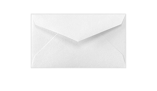 2 1//8 x 3 5//8 Business card size envelopes White 250 Mini Envelopes