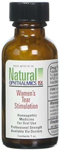 Natural Ophthalmics Women's Tear Stimulation Pellets, 1 Ounce