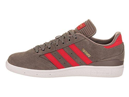 Adidas Heren Busenitz Fashion Sneaker Tech Aarde / Goud Metallic Suede