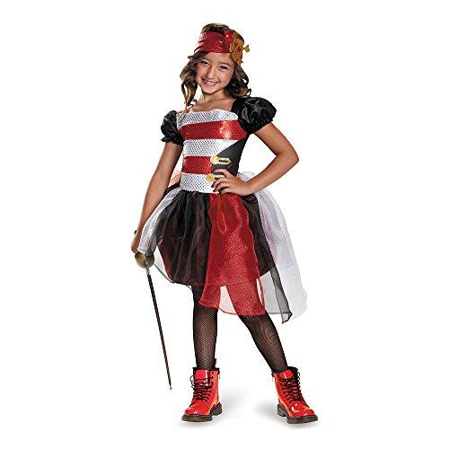 [Disguise 84075K Pirate Costume, Medium (7-8)] (Primrose Halloween Costume)