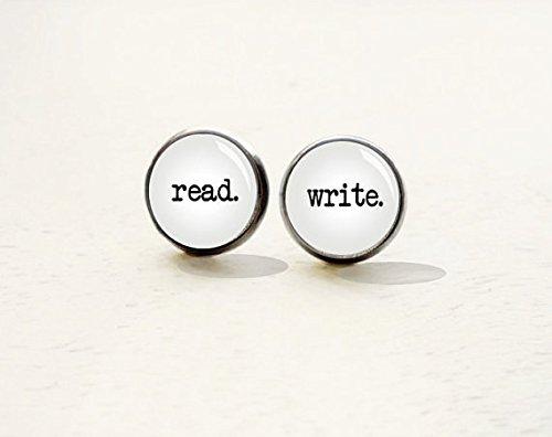 Read Write Stud Earrings Reader product image