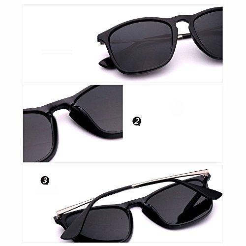 diseño Cuadrado LCCSunglasses para conducción Sunglasses de polarizadas Estilo Gafas Retro Hombre H8gn0pfn