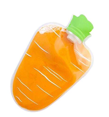 Kreative Karotten-Form-Heißwasser-Flaschen-nette warme Wasser-Tasche #4