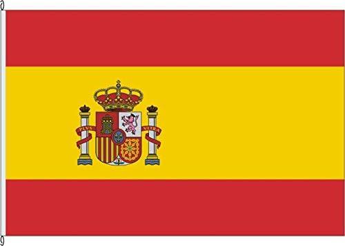 Bandera de la bandera de España (Estado Bandera) – 60 x 90 cm: Amazon.es: Jardín