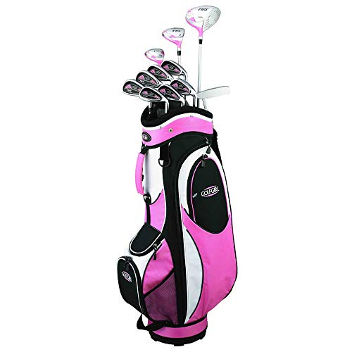 GolfGirl FWS2 Petite Golf Clubs Package Set PINK LADIES RIGHT HAND