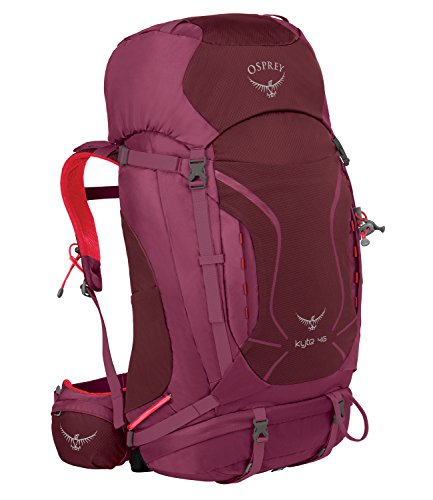 Osprey Packs Women's Kyte 46 Backpack, Purple Calla, X-Small/Small