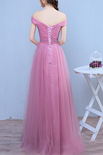 Gown Evening Prom Tulle Lilac Long Dress Lightweight Formal Women's Duraplast aqwXYX