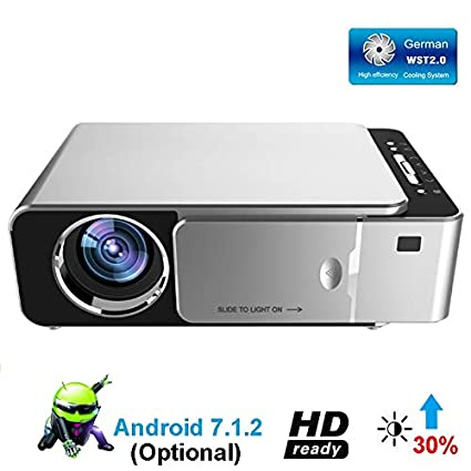 Amazon.com: 1280x720p HD LED Projector,Android 7.1.2 HD ...