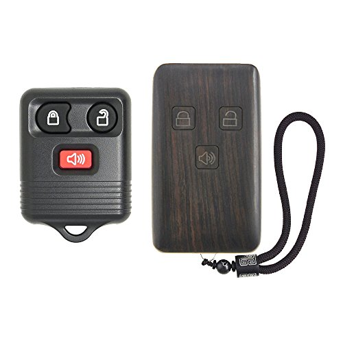 433MHz Keyless Entry Remote for SAAB 9-3 9-5 2003-2010 Key Fob With Uncut Blade 4 Button