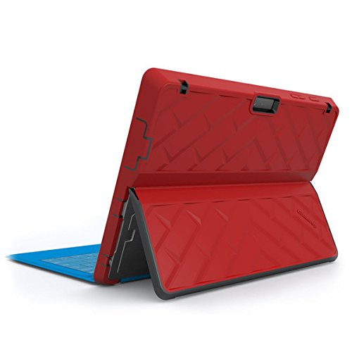 Gumdrop Cases Droptech for Microsoft Surface Pro 3 Rugged 2-in-1 Tablet Case Shock Absorbing Cover, Red/Black by Gumdrop Cases