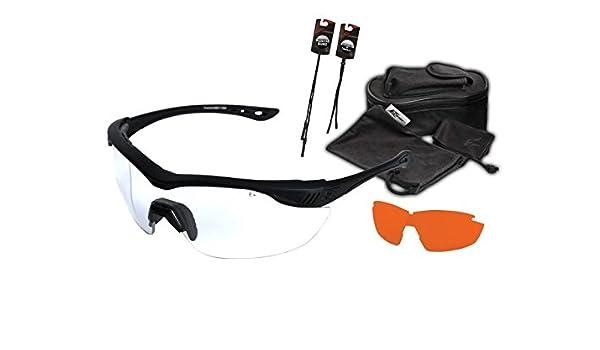 fa8e6169d6 Edge Tactical Overlord 2-Lens Kit, marco negro, lente transparente, ojo de  tigre), ho2 K-5: Amazon.es: Deportes y aire libre