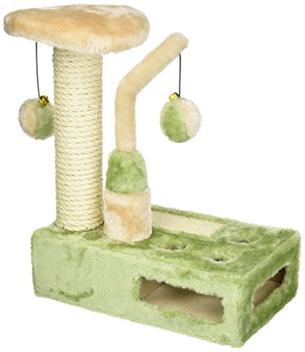 Penn Plax Cat Life Hide and Seek Kitty Playground Cat Toy by Penn Plax