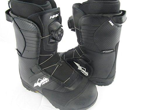 Hmk Snowmobile Boots (HMK Team Series Men's Boa Boots (Black, Size 10))